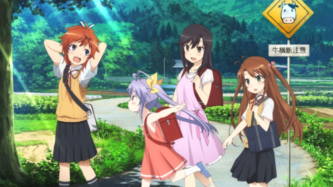 Non Non Biyori Repeat OP & ED Title Revealed